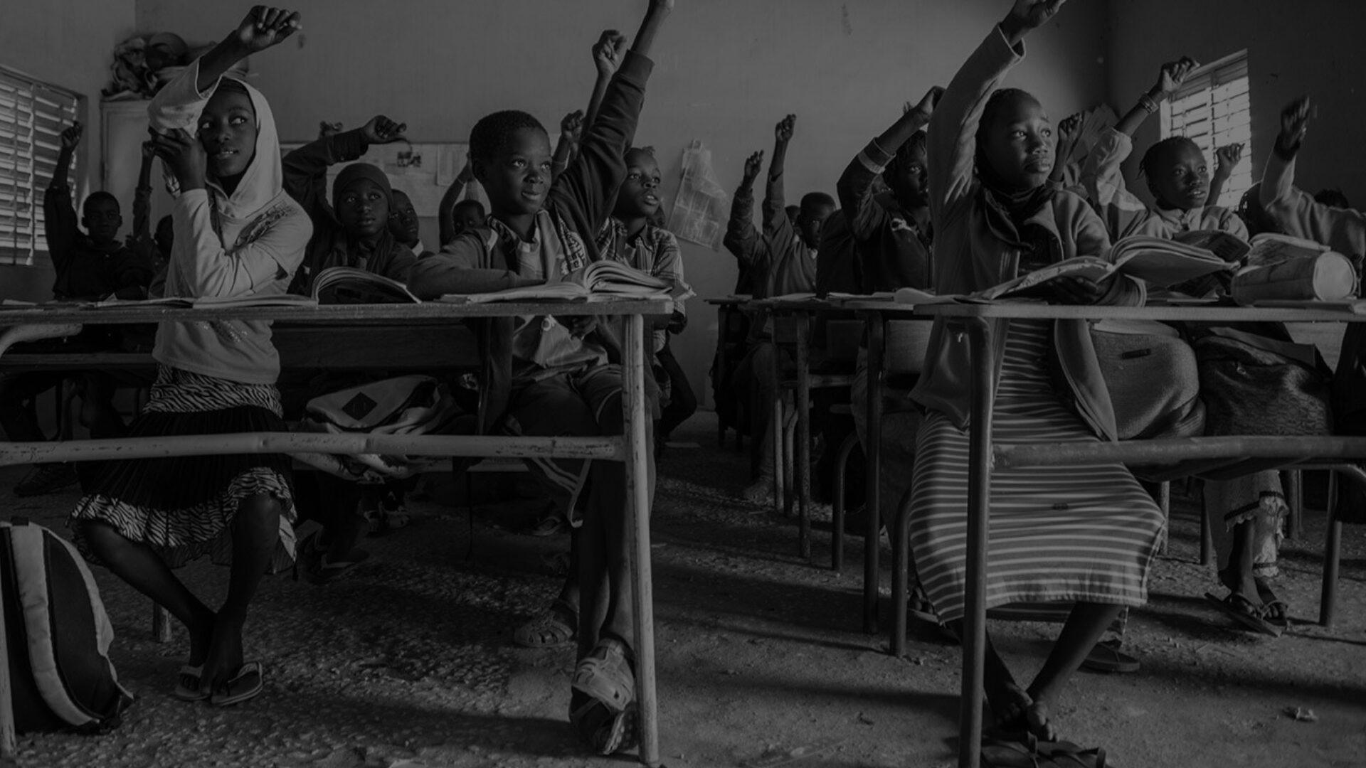 Image for School children in an African school